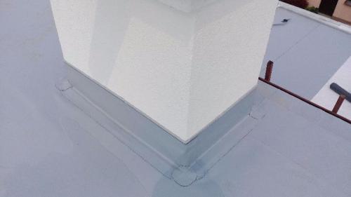 Hydroizolační fólie z  PVC-P detail  (1)